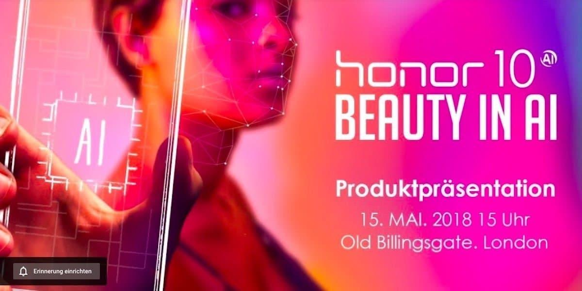 BeautyAI_honor10_praesentation_london_titel