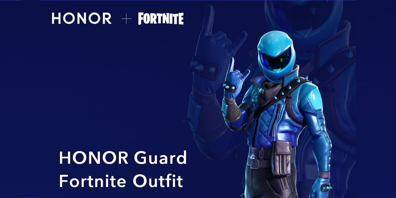 HONOR Fortnite Skin Titelbild