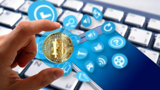 Krypto-Mining per Smartphone-App.