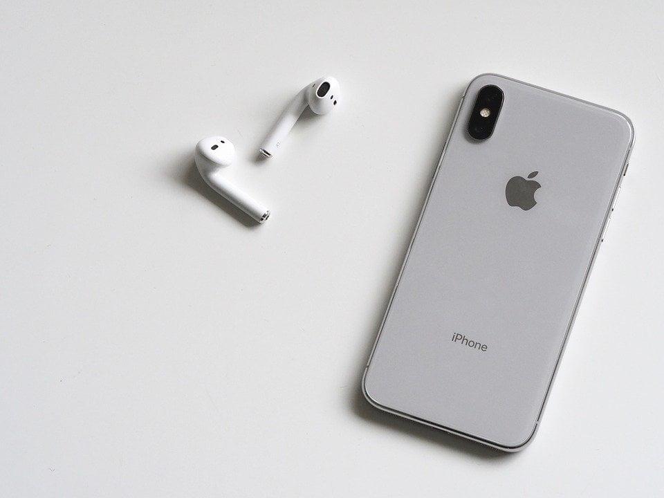 AirPods und iPhone X